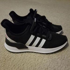 Adidas U-Path Run Core Black and Future White